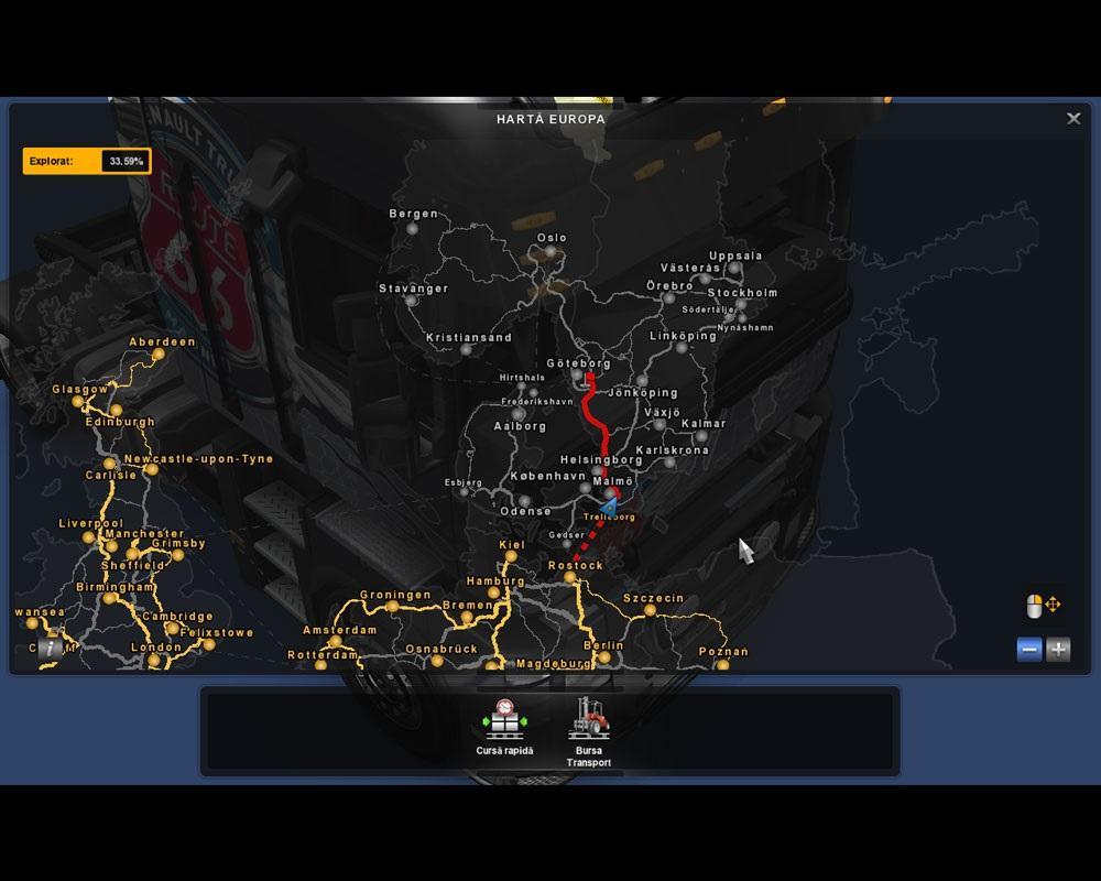 Eaa bus pack v1 6 mod euro truck simulator 2 mods - Original Scandinavia Map 1 19 X Modhub Us