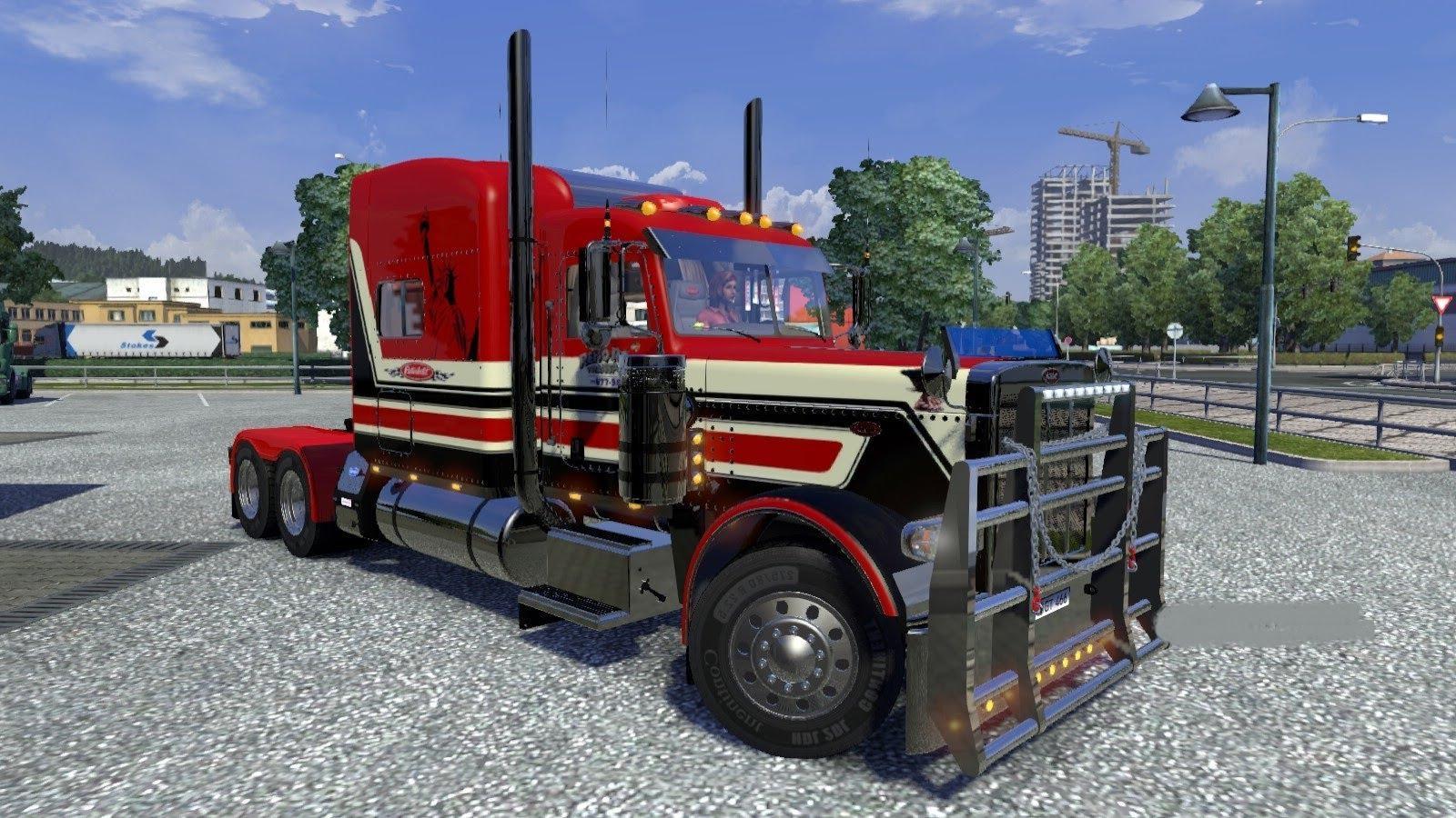 Euro Truck Simulator 2 Peterbilt 379 Exhd