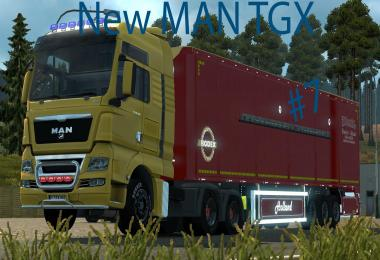 New MAN TGX Modified