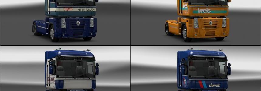Renault Magnum Skin Pack 1.20.x