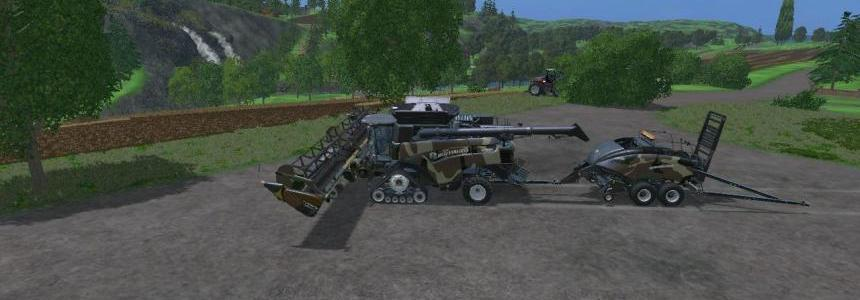 All In One New Holland Pack Camo Eagle355th v1