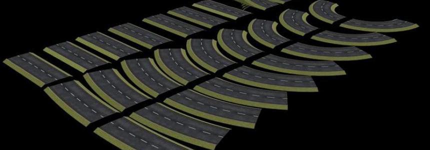 Asphalt Roads v1.0