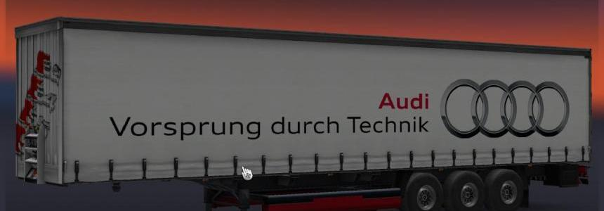 Audi Trailer works on all  version