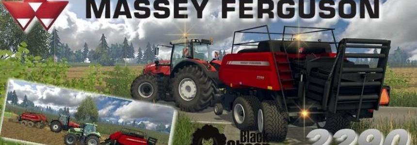 Baler Massey Ferguson 2290 v1.0