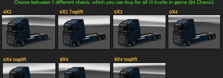 BDF Tandem Truck Pack v38.0