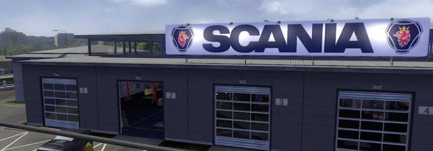 Big Garage Scania 1.20.x