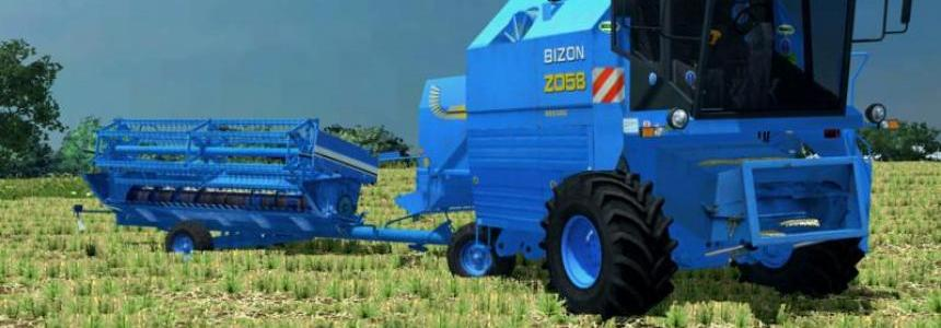 Bizon Rekord Z-058 New Holland v1