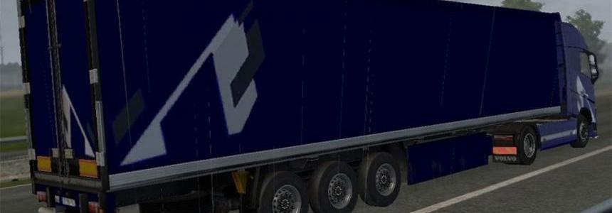Blue Dark Stripes – COMBO PACK – Volvo FH 2012