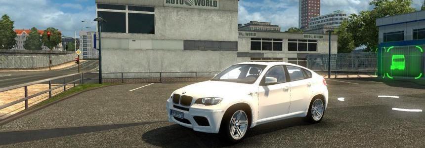 BMW X6 v3.3 + WheelPack +Trailer [1.20.x]