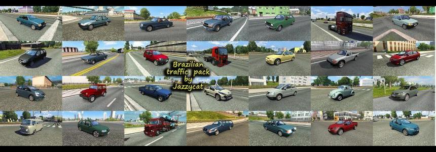 Brazilian Traffic Pack by Jazzycat  v1.3