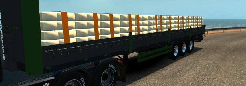 Cement trailer [Green] 1.20