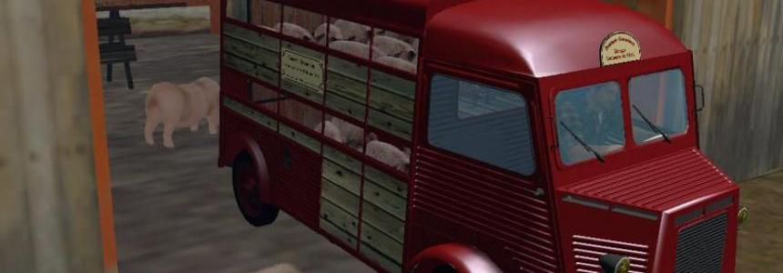 Citroen H flatbed and Livestock v2.6