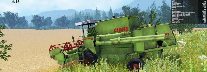 Claas Dominator 85 v1.0