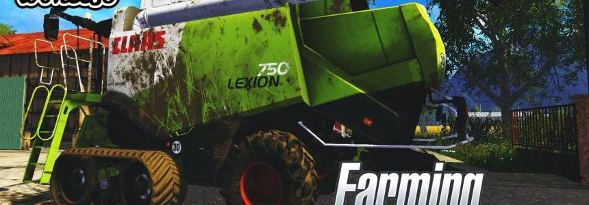 CLAAS LEXION 750, 750TT 1.2 FINAL VERSION