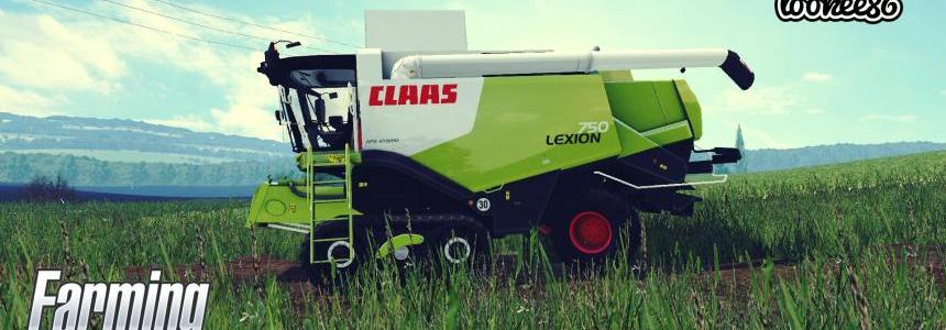 CLAAS Lexion 750, 750TT  FINAL VERSION 1.3 V2