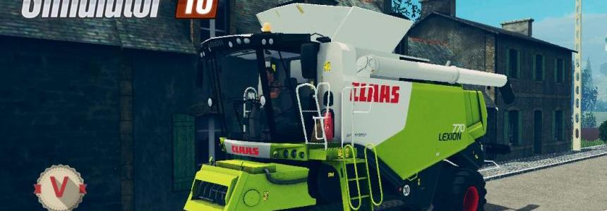 CLAAS LEXION 770 v1.1 final version