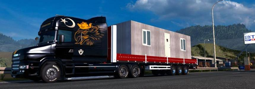 Container Trailer [Green] 1.20.x