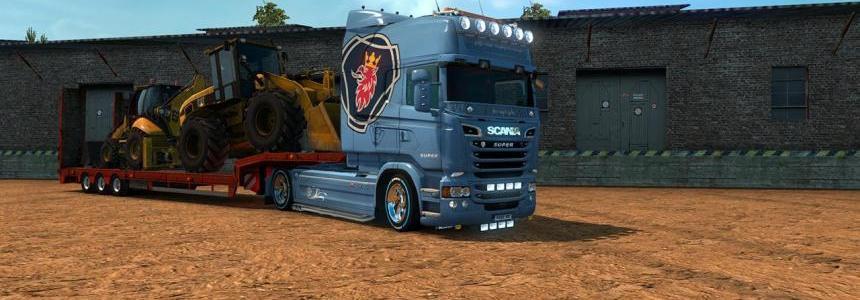 Custom Scania Vabis V8 Skin v1.3