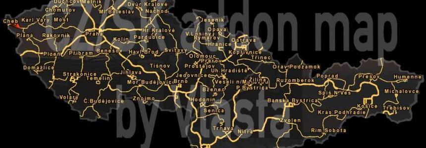 CZ/SK addon Map by Vlasta v2.3