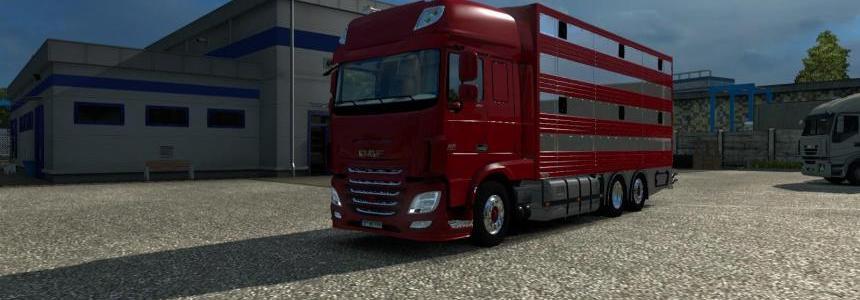 Daf XF euro 6 + trailer bdf pezzaioli