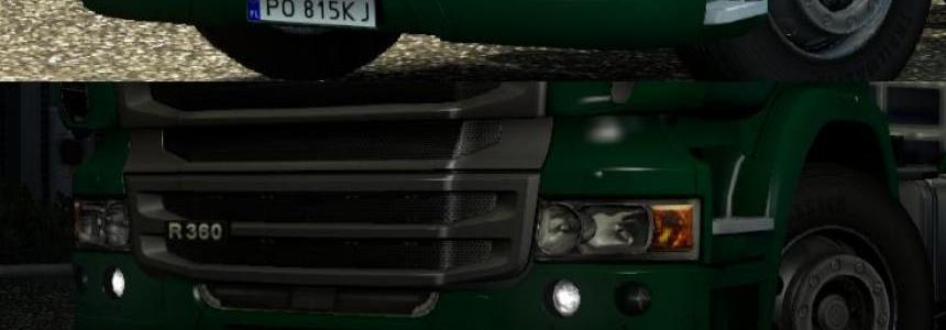 Daytime Running Lights - Scania v1.0