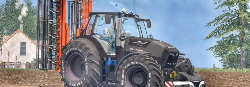 Deutz Fahr 7250TTV Warrior v2.0