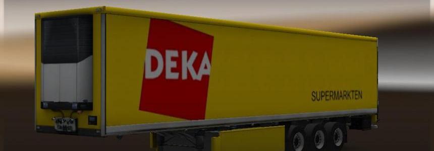 Dutch supermarket trailer pack