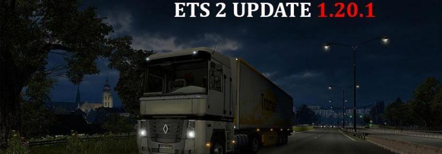 ETS 2 Update 1.20.1