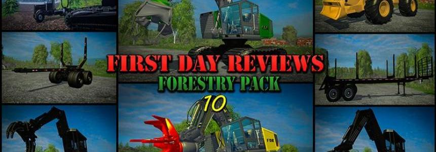 First Day Reviews - Forestry Pack 10