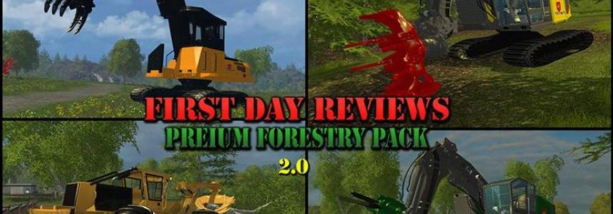 First Day Reviews - Premium Forestry Pack v2.0