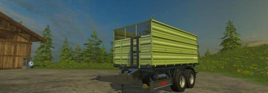Fliegl TDK160 construction v1.3.1