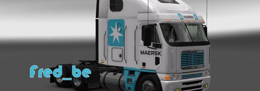 Freightliner Argosy Maersk Skin 1.20.x