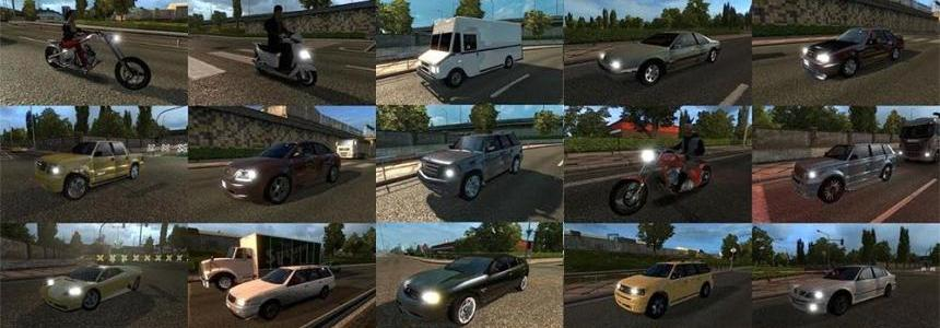 GTA IV traffic pack v1 update