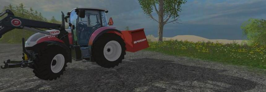 Hasberg Trac container v1.0