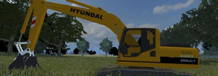 Hyundai R290LC-7 1.0