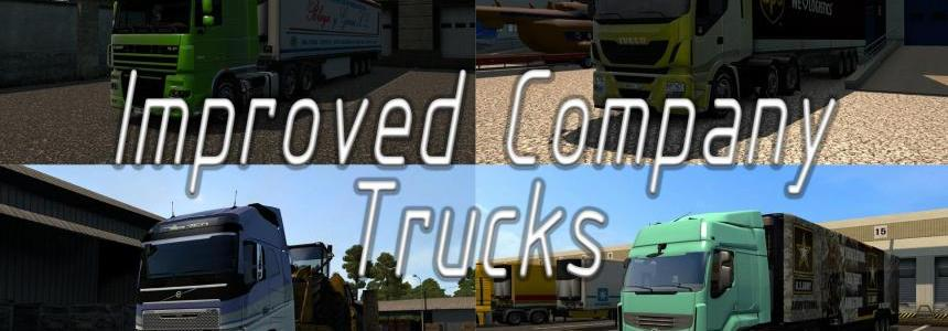 Improved company trucks mod
