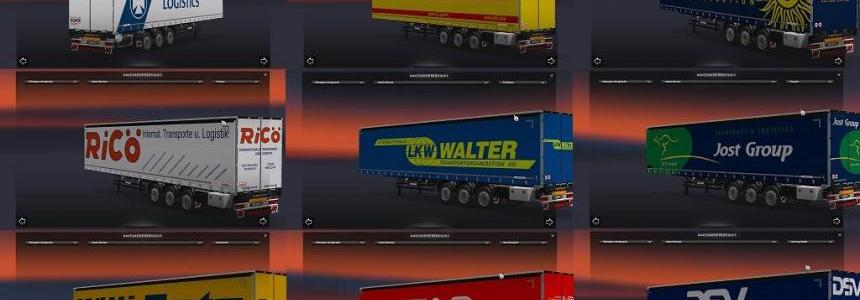 International Trailers Skin Pack 4