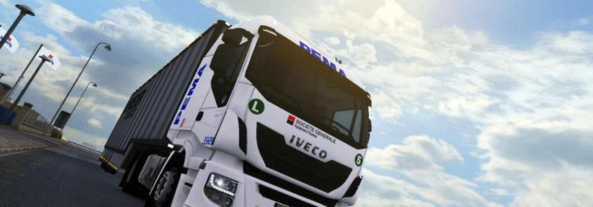 Iveco Hi Way Pema Rental Skin