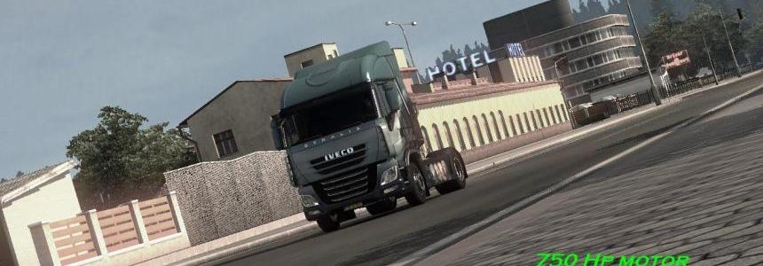 Iveco Stralis + DAF E6 [SP/MP]