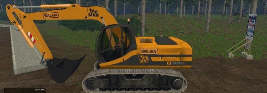 JCB JS 200 WALKIA v1.0