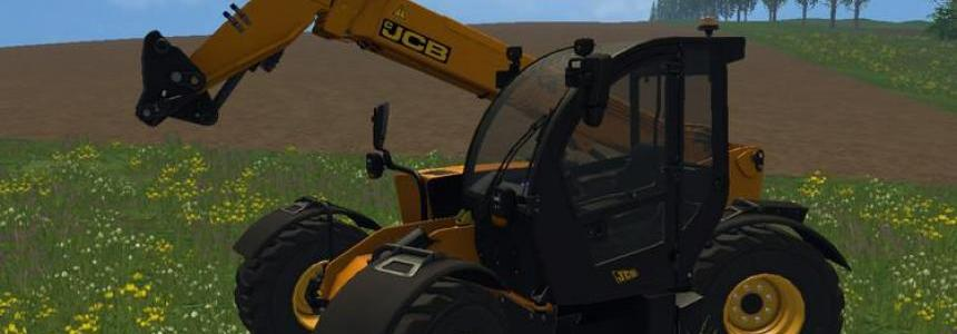 JCB Telehandler with shovel v1.0
