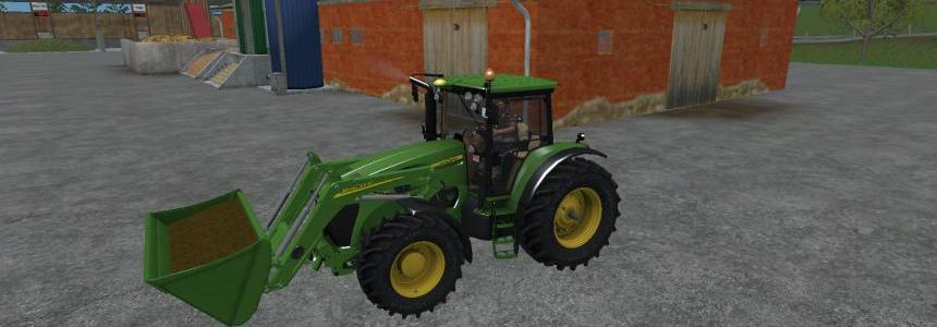 John Deere 7930 With Front Loader v1