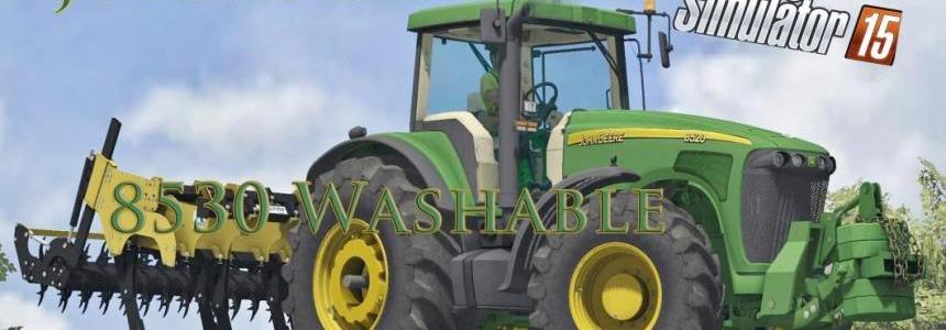 John Deere 8530 Washable  V1