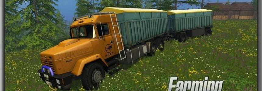 Kraz 64431 and Trailer Set v1.0