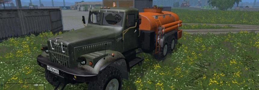 KrAZ fuel truck v1.0