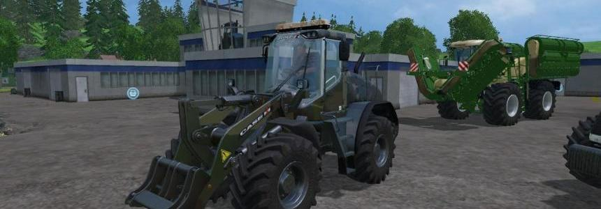 Liebherr L538 custom Camo and Shovel v1.0