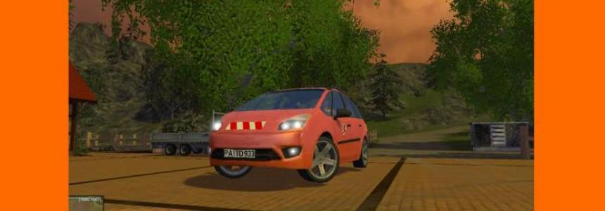 Lizard Fam 1.9 TD municipal official cars v3.1 Verbessert