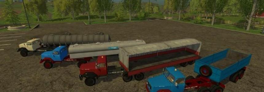 Magirus 200D26 truck tractors v1.0