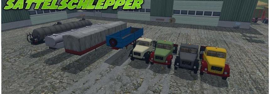 Magirus 200D26 truck tractors v1.1