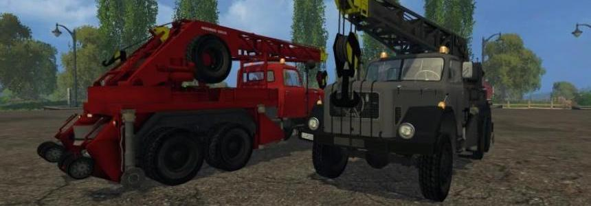 Magirus 200D26A 6x6 Kranwagen v1.0